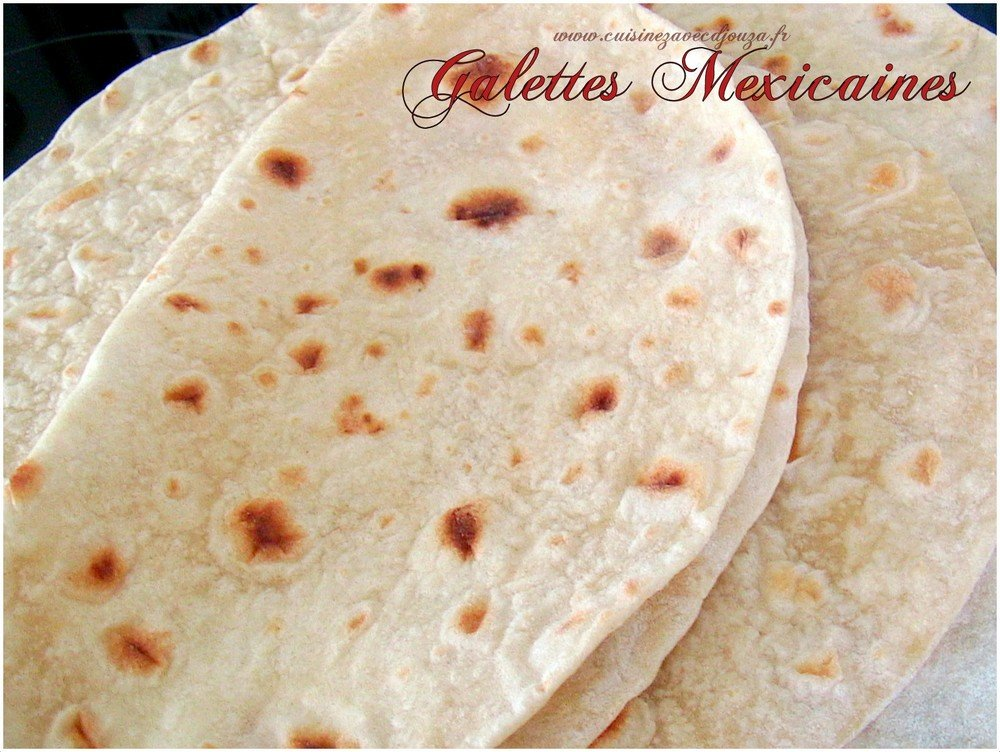 Galette tortillas mexicaine
