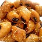 Petit makrout aux dattes / graines de sesames