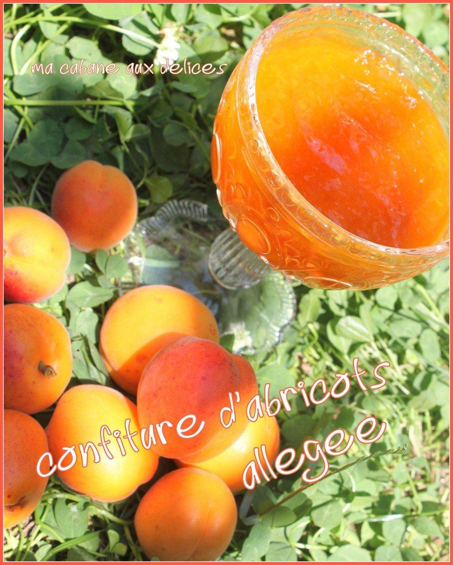 Confiture allégée abricots