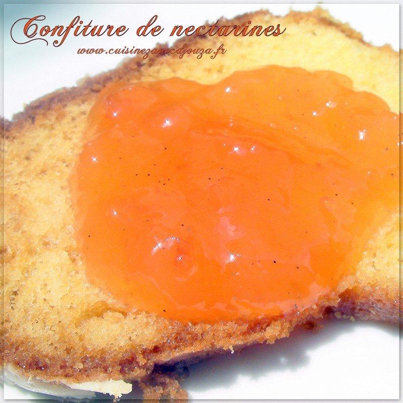 Confitures de peches abricots
