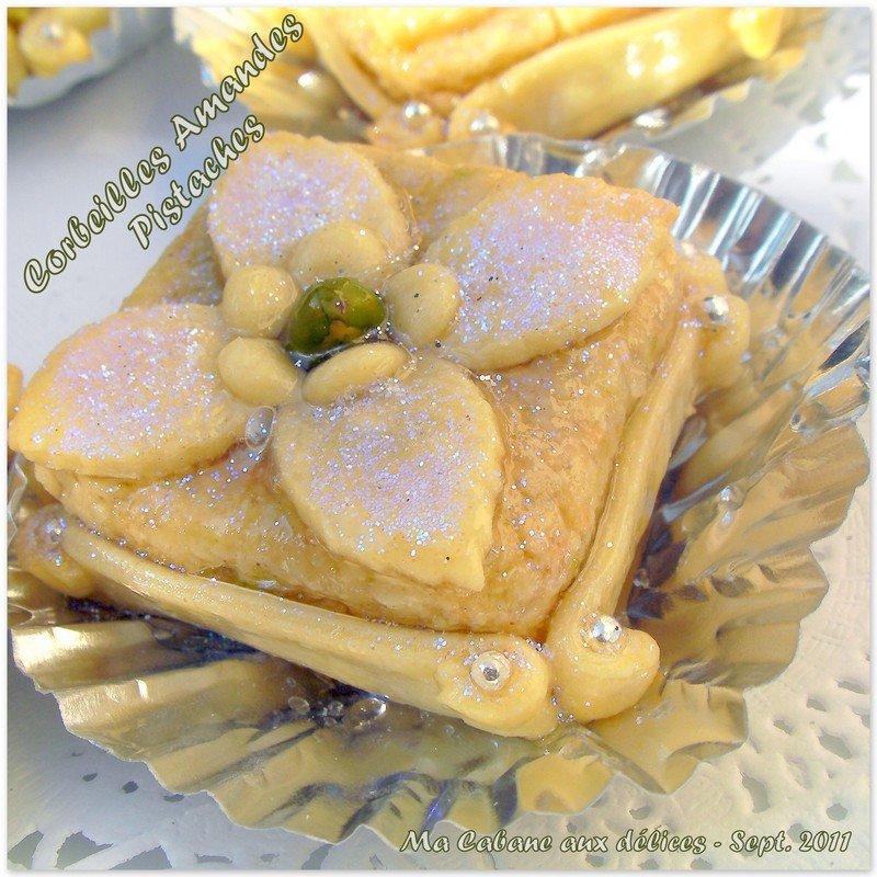 Corbeilles amandes pistaches