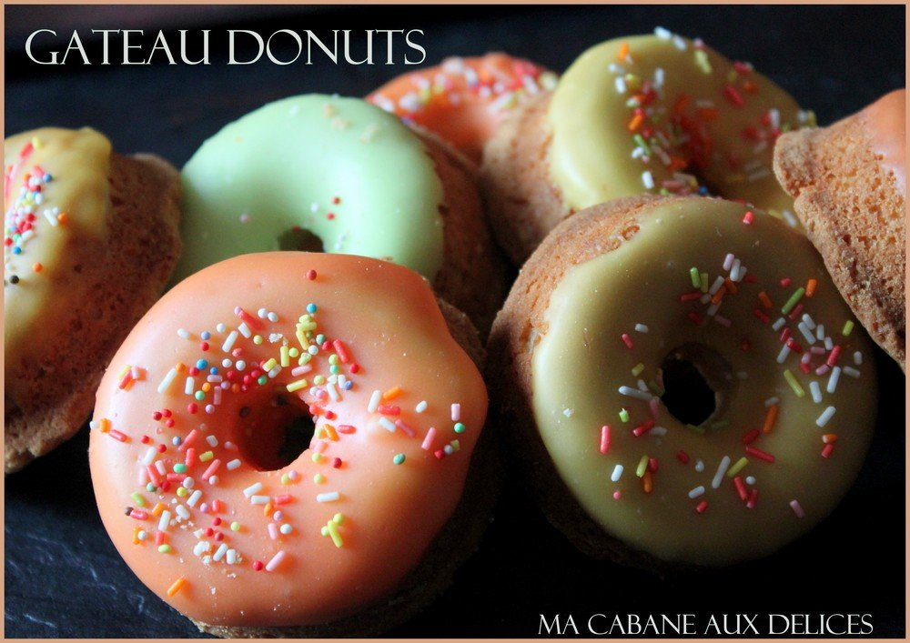 Gateau donuts au four