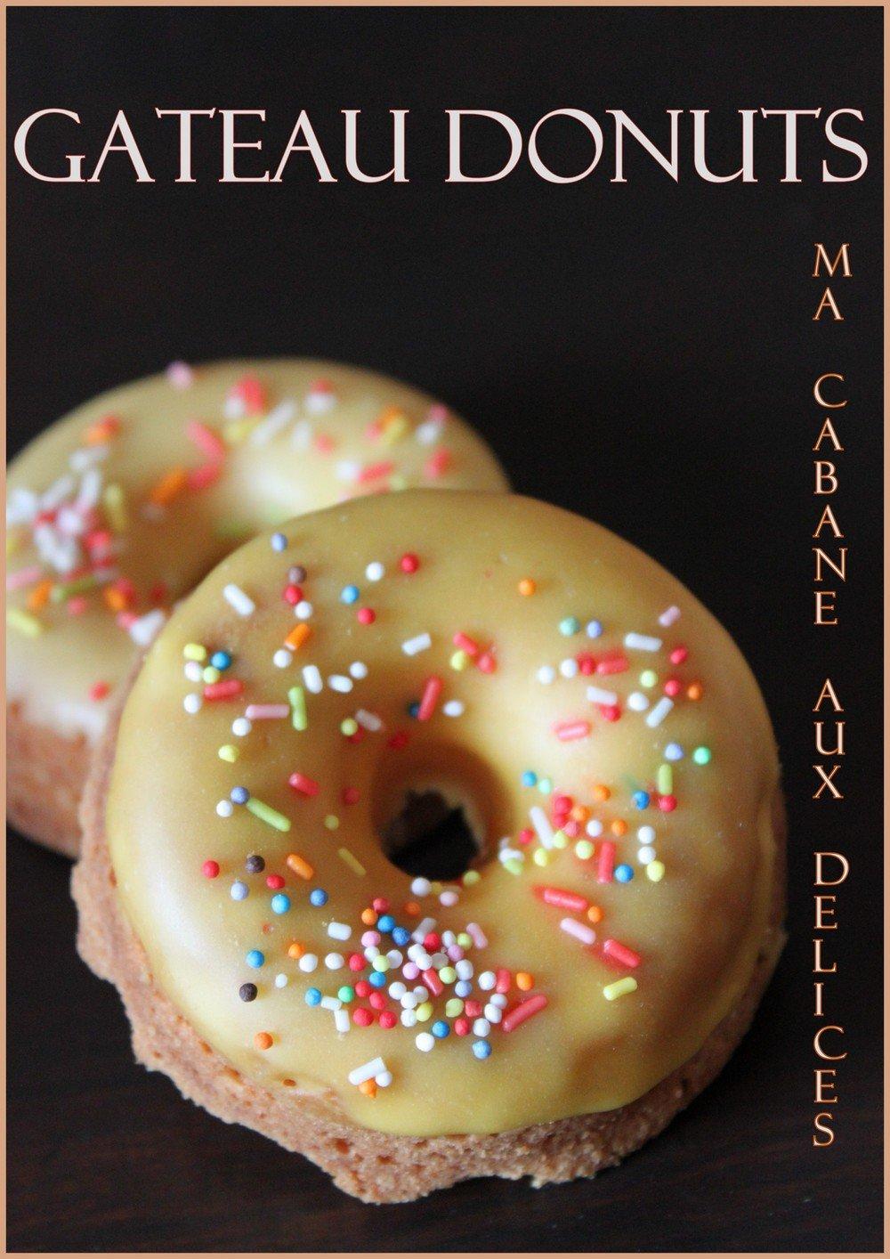 Gateau donuts au four