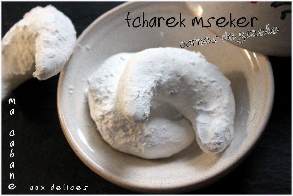 Tcharek mseker corne de gazelle gateau de fetes