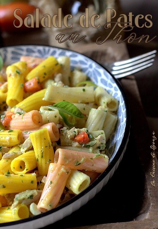 Salade de pates au thon