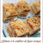 Gateau confiture de figues