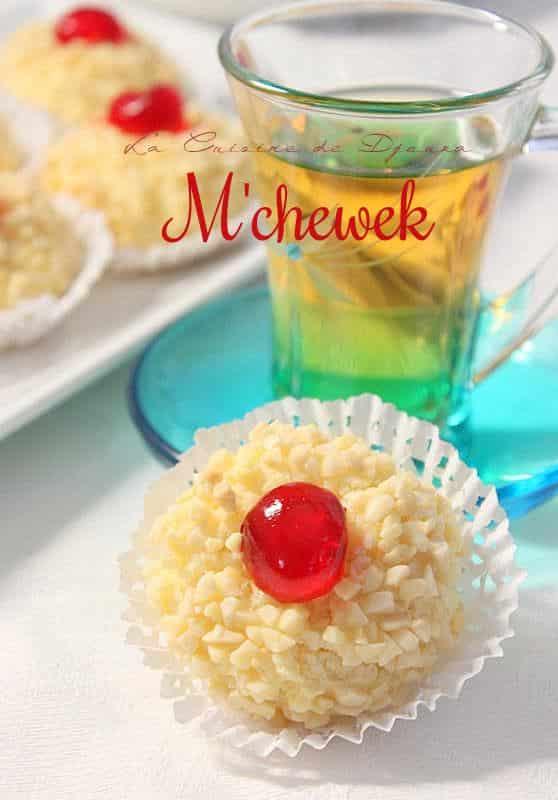 Gâteau algérois à la noix de coco mchewek