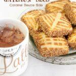 Gateaux secs algerien caramel beurre sale