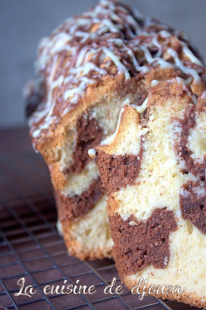 Recette cake marbré chocolat facile