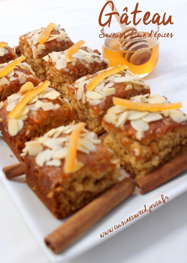 Gateau au miel et epices blogs de cuisine for Epices de cuisine