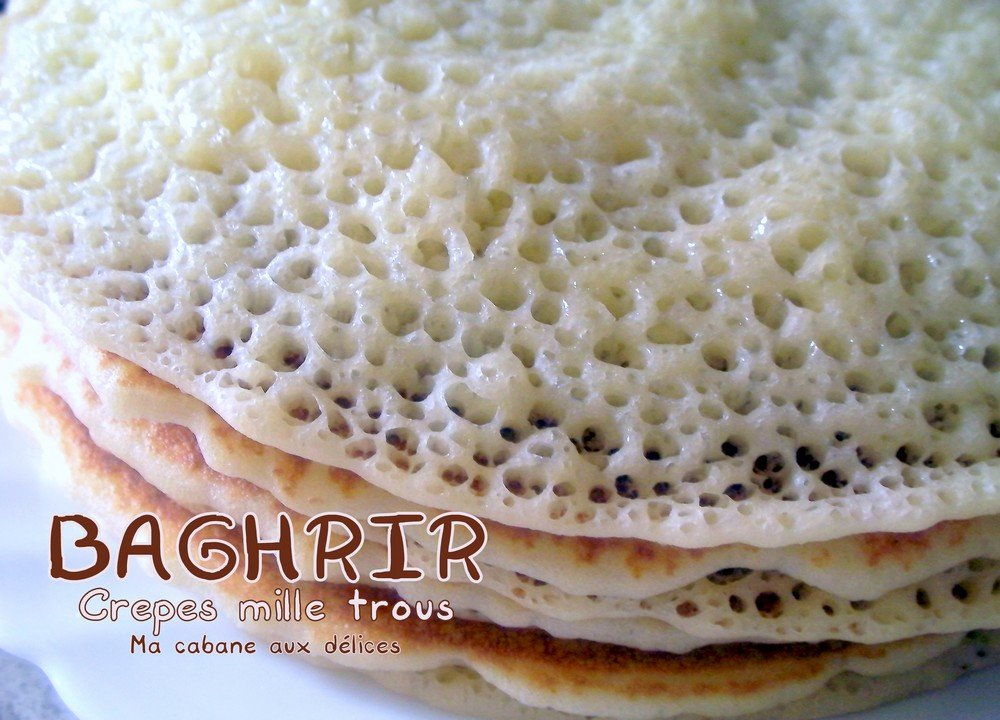 Baghrir crepes mille trous