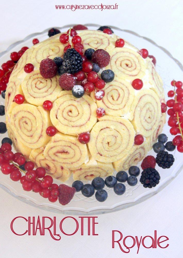 Charlotte royale, epreuve technique le meilleur pâtissier