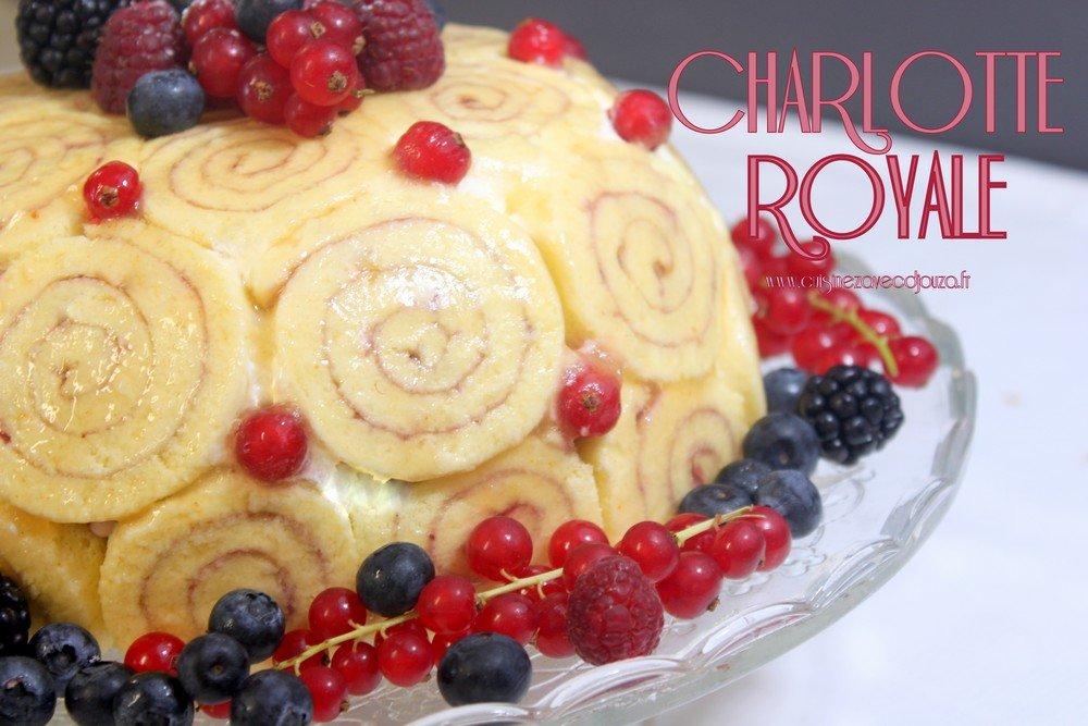 Charlotte royale, le meilleur pâtissier M6