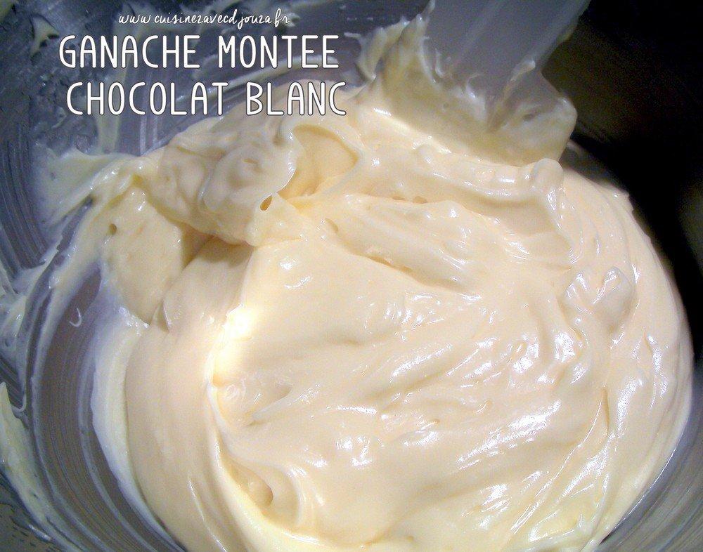Ganache montée chocolat blanc