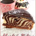 Gateau Marbré Italien / Zebra cake