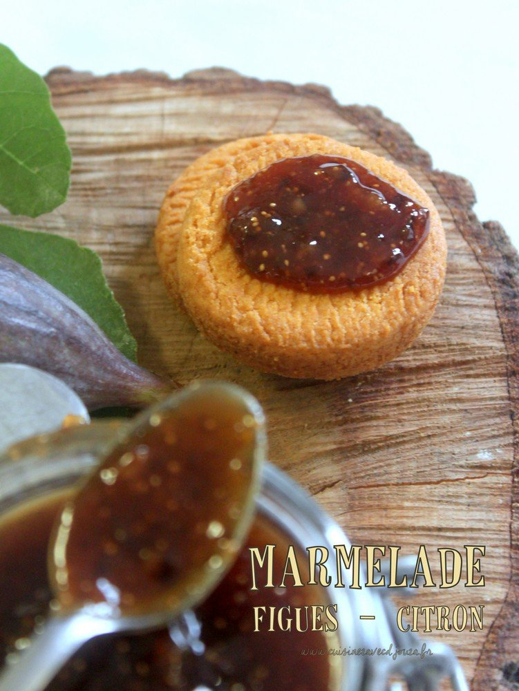confiture figue citrons