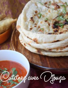 Naan pain indien recette