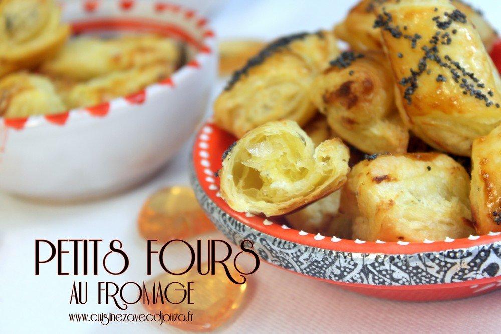 Recette Petits fours salés au fromage facile