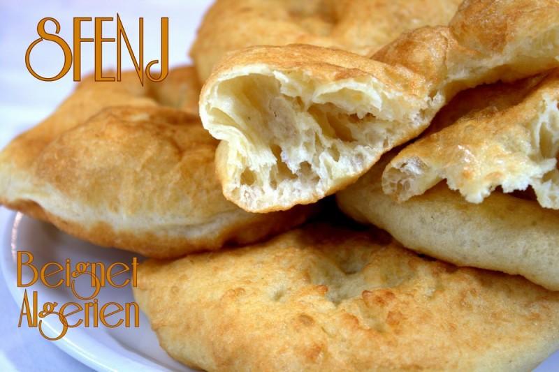 Sfenj algerien recettes faciles recettes rapides de djouza - Recette de beignet moelleux et gonfle ...