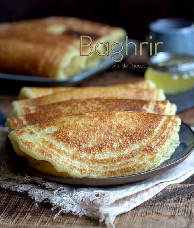 Recette Baghrir traditionnel