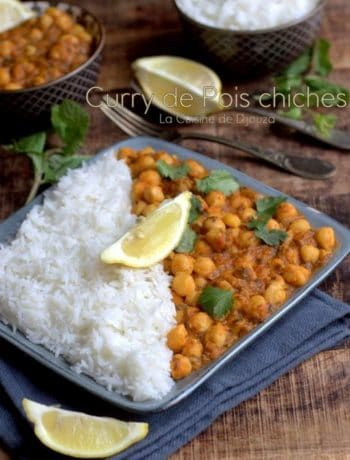 chana massala de pois chiches