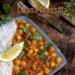 Curry de pois chiches channa massala