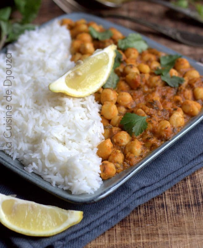 Chana massala curry