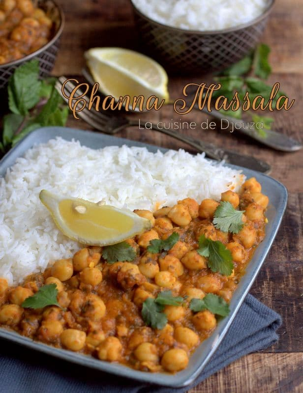 Curry de pois chiches pakistanais