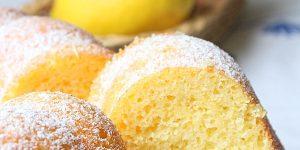 Gateau mousseline au citron