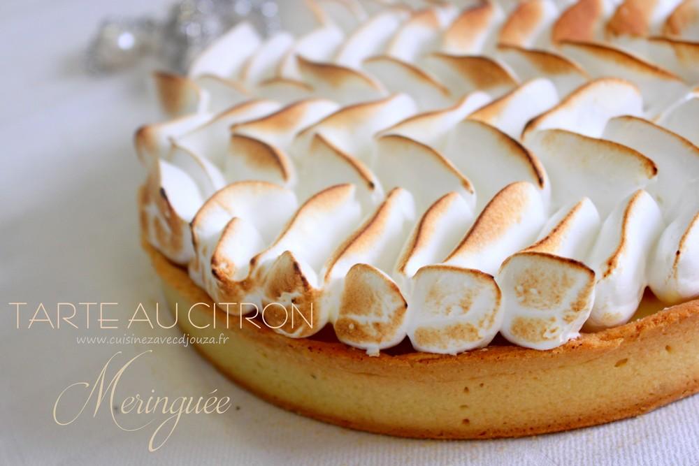 Gateau tarte citron meringue meilleur travail des chefs populaires - Recette tarte au citron sans meringue ...