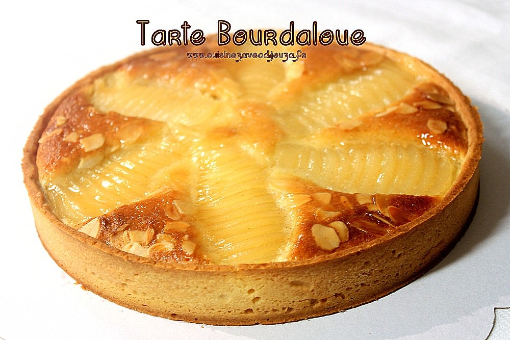 tarte aux poires bourdaloue recettes faciles recettes. Black Bedroom Furniture Sets. Home Design Ideas