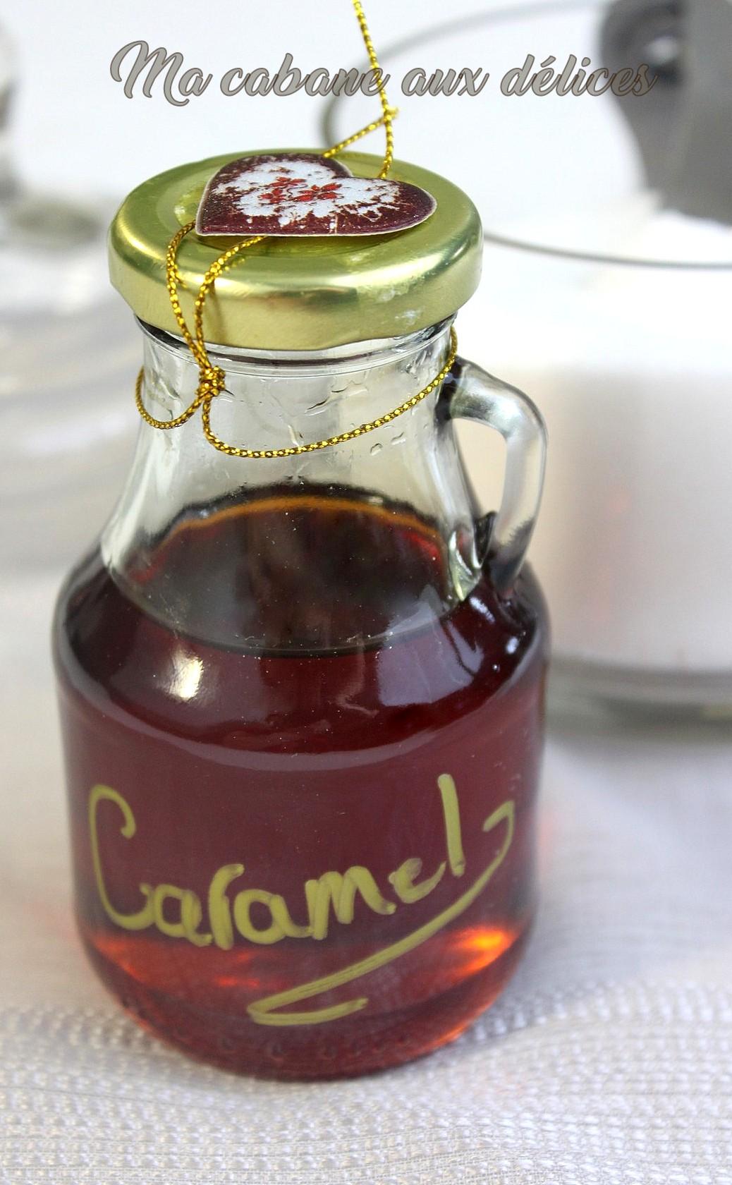 Recette caramel liquide maison