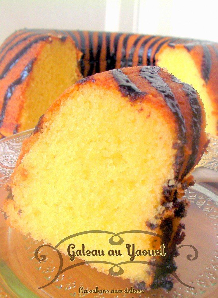 Gateau au yaourt sans huile