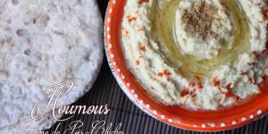 Recette Houmous, mezze de la cuisine libanaise