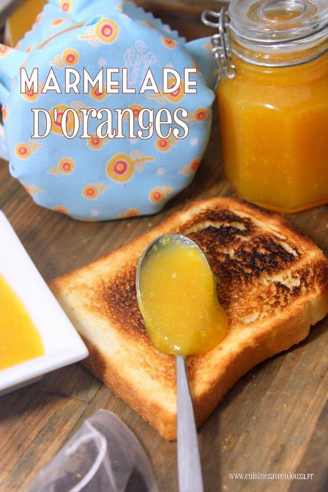 Marmelade à l'orange