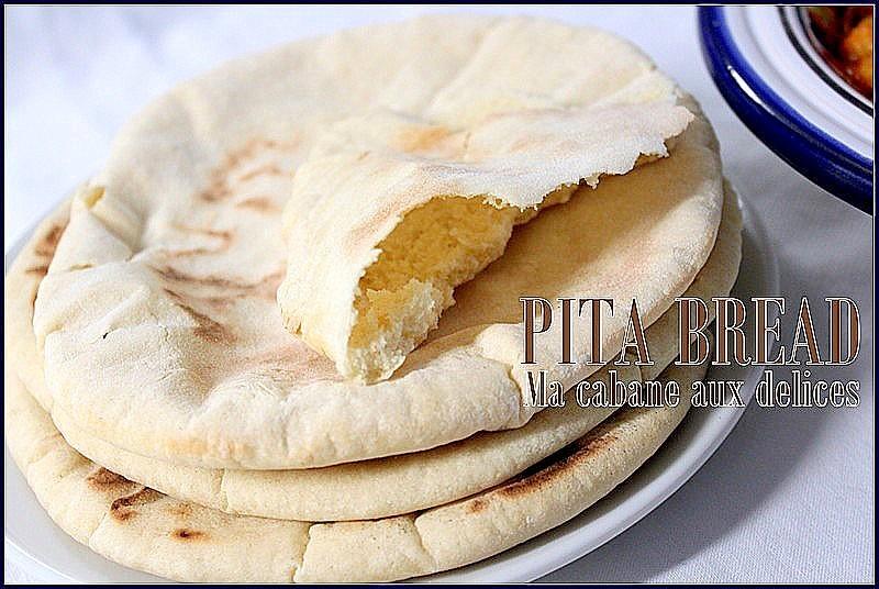 pain pita ou pain libanais recettes faciles recettes rapides de djouza. Black Bedroom Furniture Sets. Home Design Ideas