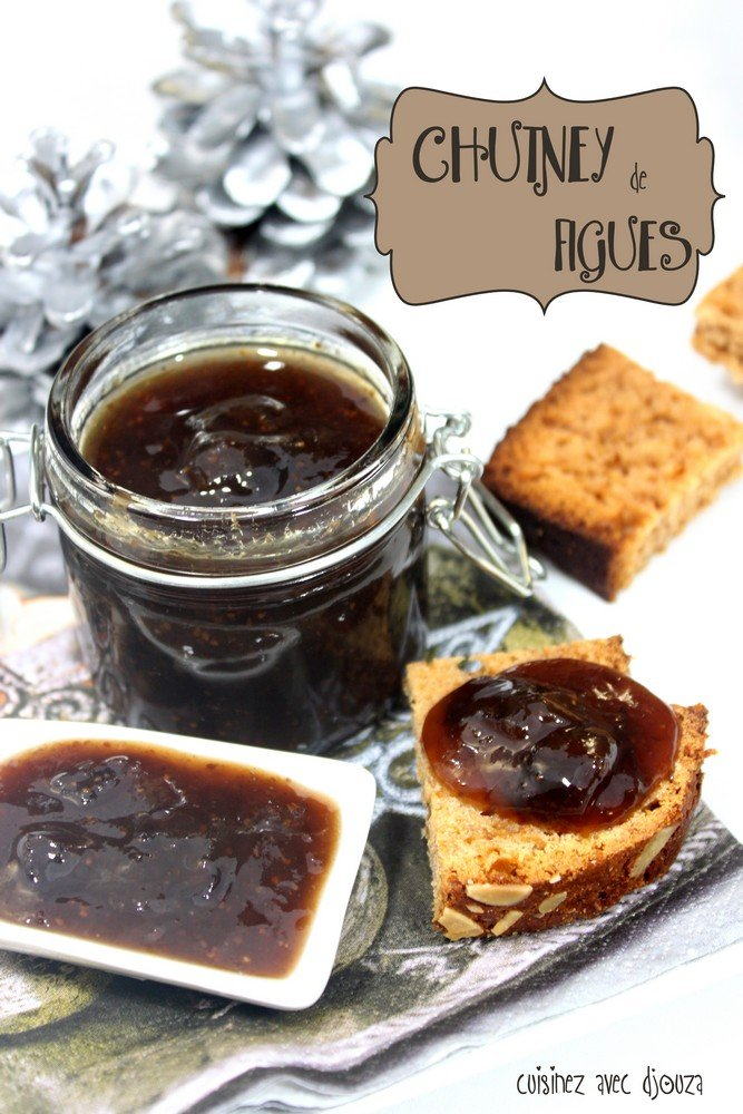chutney de figues aux pices recettes faciles recettes. Black Bedroom Furniture Sets. Home Design Ideas