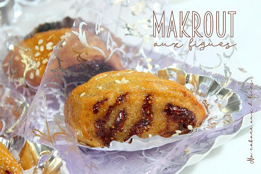 Makrout aux figues