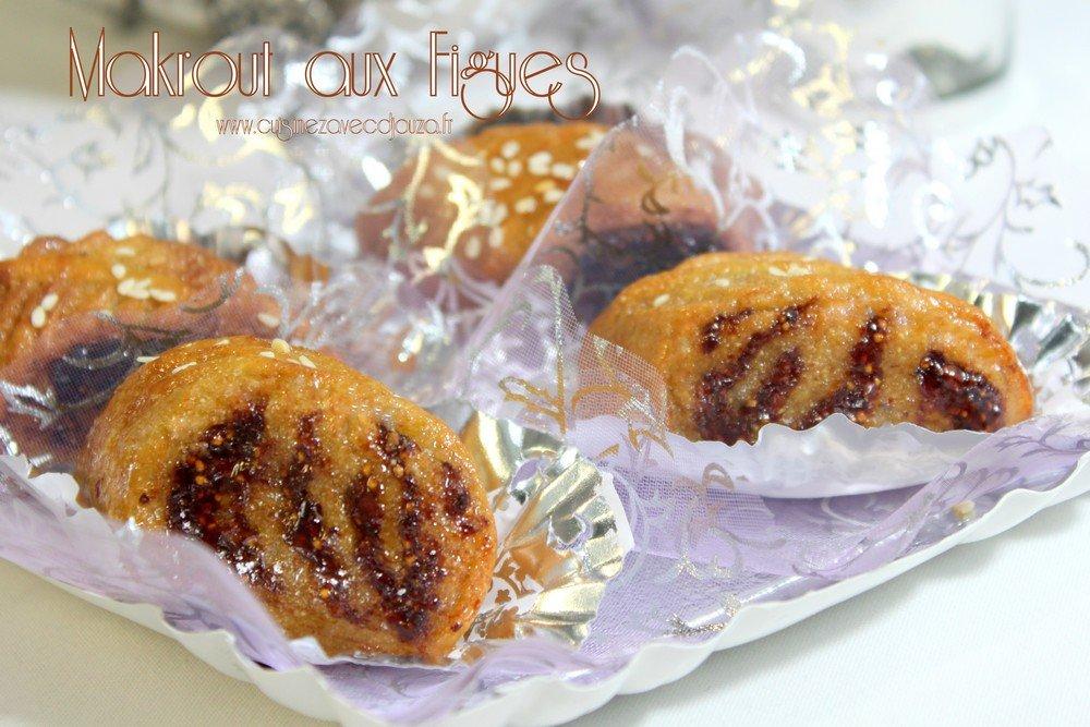 makrout algerien aux figues nouvelle pr 233 sentation recettes faciles recettes rapides de djouza