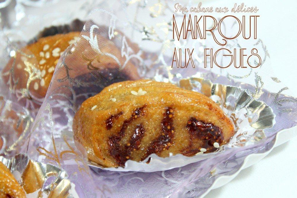 makrout aux figues et miel