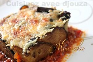 Moussaka d'aubergines et pommes de terre