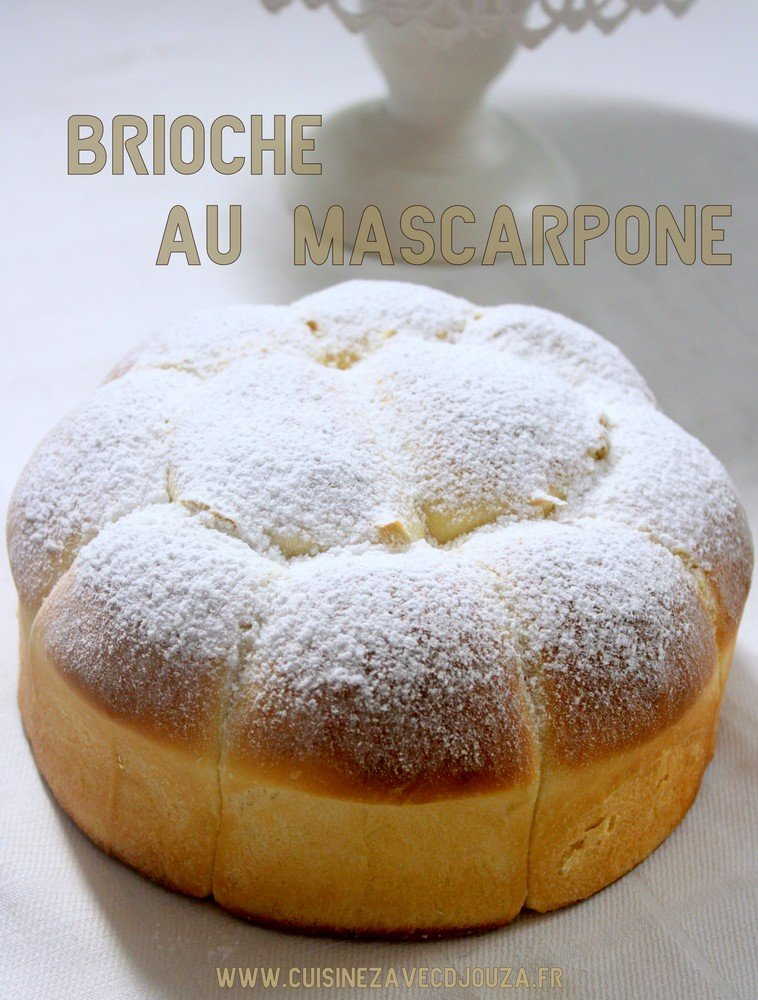 brioche au mascarpone sans beurre recettes faciles recettes rapides de djouza. Black Bedroom Furniture Sets. Home Design Ideas