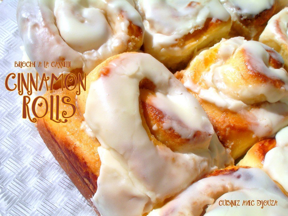 Cinnamon rolls brioche cannelle