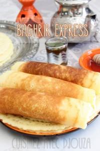 Baghrir express crepe rapide au blender