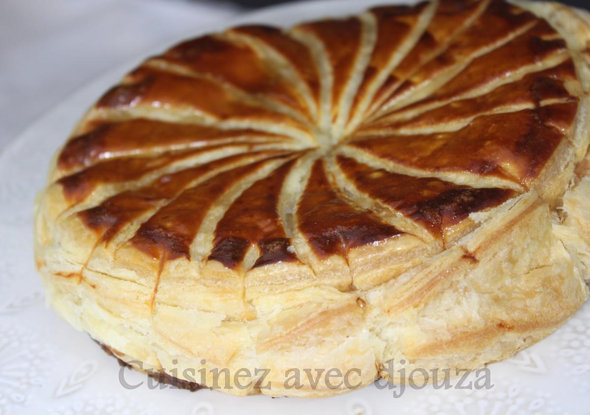 Galette des rois frangipane a l 39 orange recettes faciles recettes rapides de djouza - Recette facile galette des rois ...
