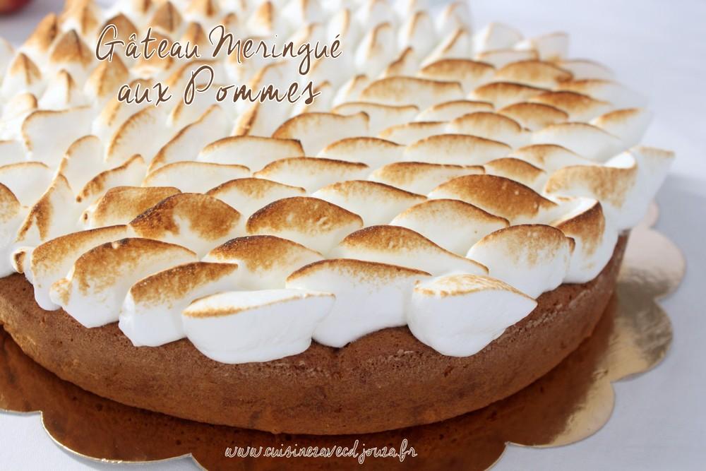 Gateau Au Yaourt Et Pommes Moelleux La Cuisine De Djouza