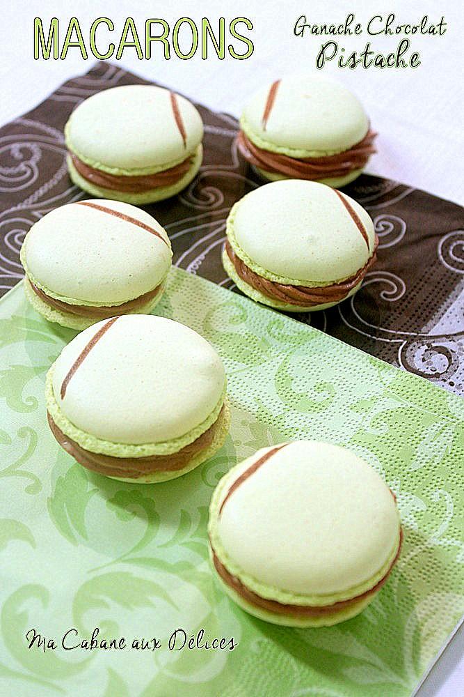 Macarons a la meringue italienne