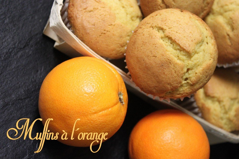 muffins a l 39 orange recettes faciles recettes rapides de. Black Bedroom Furniture Sets. Home Design Ideas