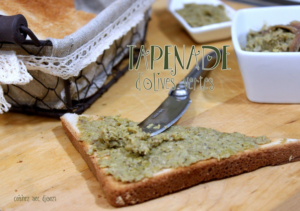 Tapenade olive verte photo 3