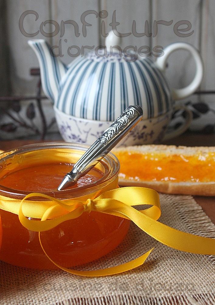 confiture ou marmelade d'oranges amères